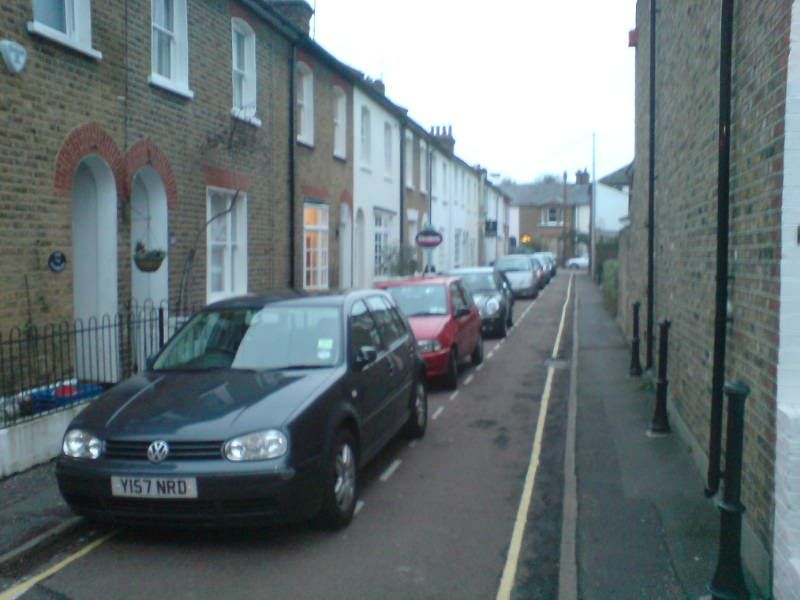 Only in England is this considered a street with parking