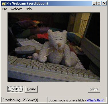jaymeekae:omg I just realised im using up my bandwidth WATCHING a static image of a teddybear