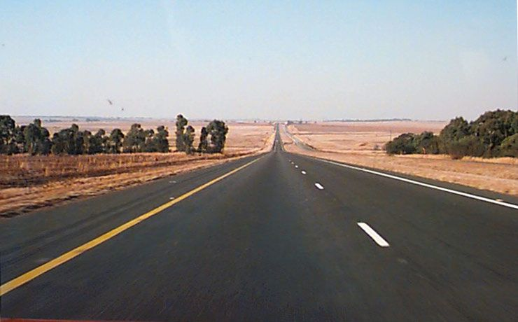 the road out of johannesburg