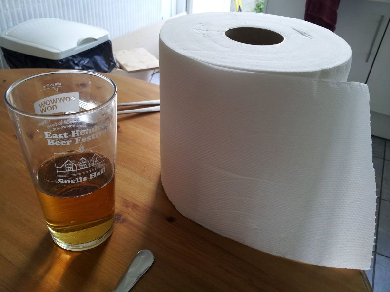 Man size kitchen roll