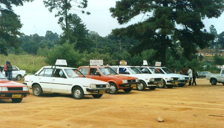 learner cars waiting