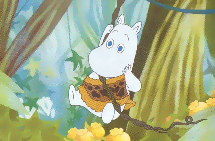 an adventurous moomin