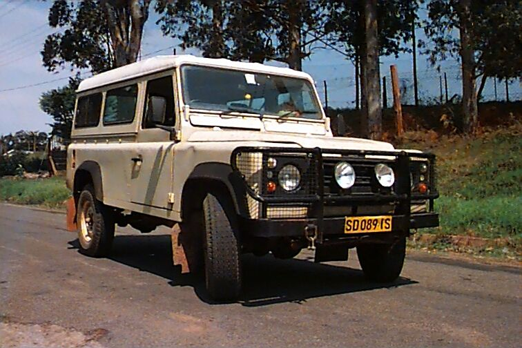 the land rover (again)
