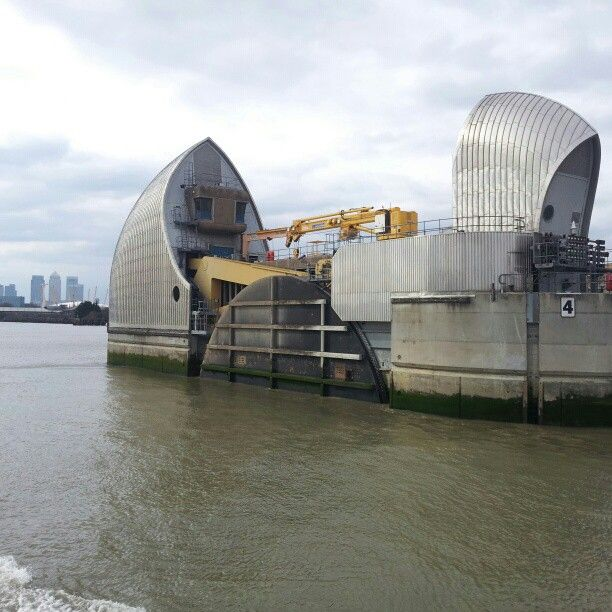 The Thames Barrier is weirdly impressive, yet simultaneously underwhelming, up close.