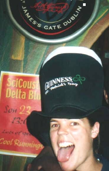 The wild and crazy adventures of Carl's Guinness Hat part the Second