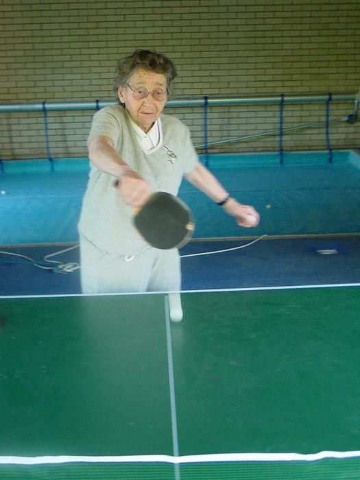 The Little Old Lady from Ping Pongina
